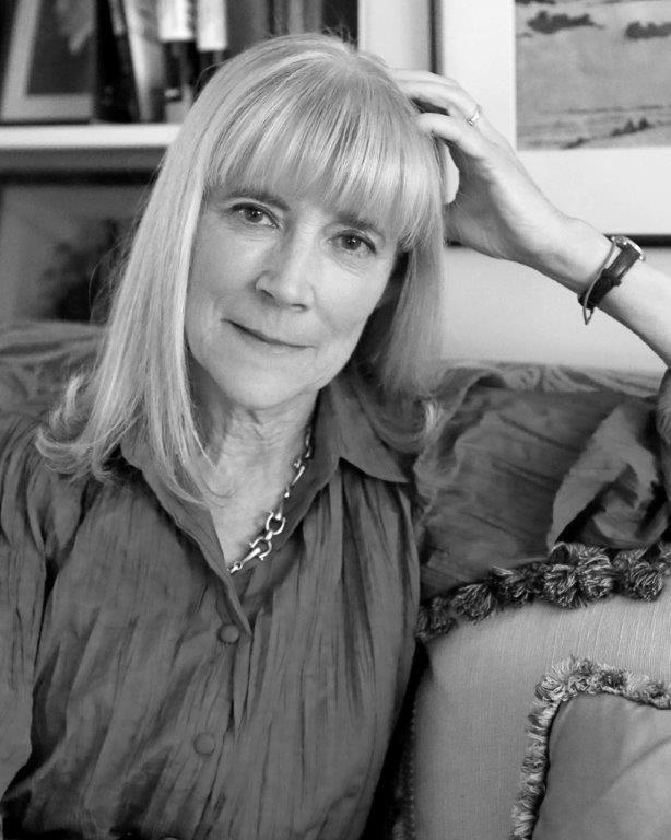 black and white photo of Margo Taft Stever