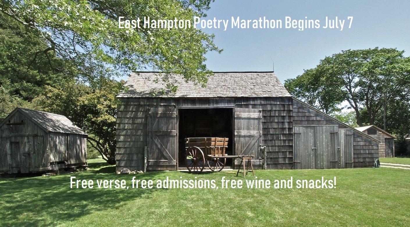 East Hampton Poetry Marathon