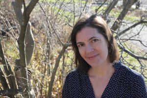 Rebecca Hart Olander, author of Uncertain Acrobats