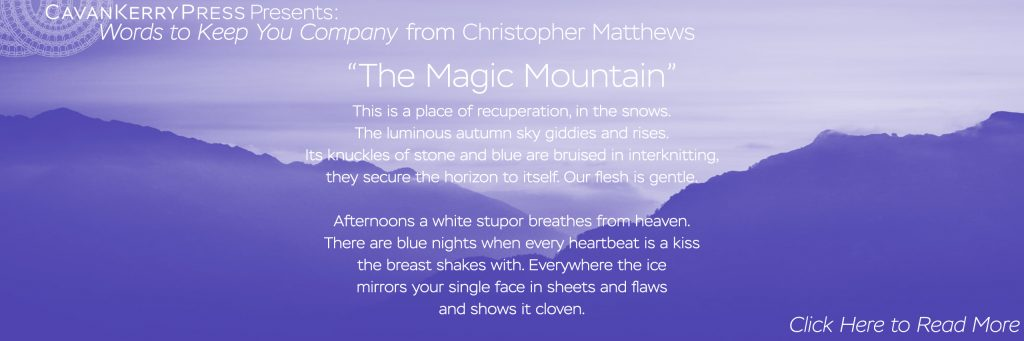 """""""The Magic Mountain"""" by Christopher Matthews. Click here to read the full poem."""